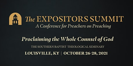 The Expositors Summit tickets