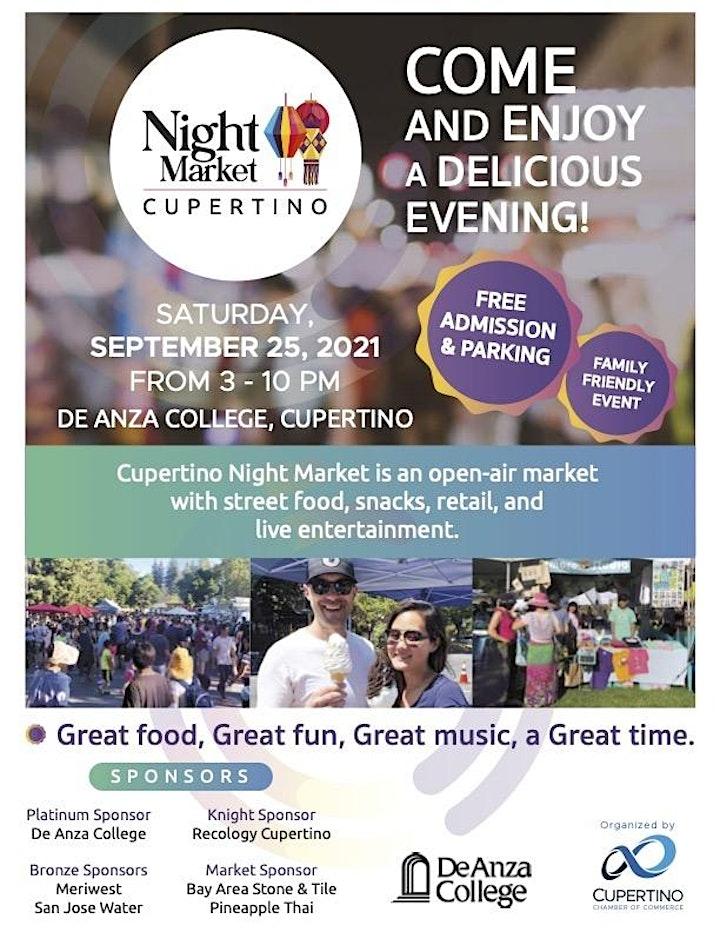 Cupertino Night Market image
