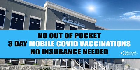 No Out of Pocket  - Covid Vaccinations - Datapoint tickets