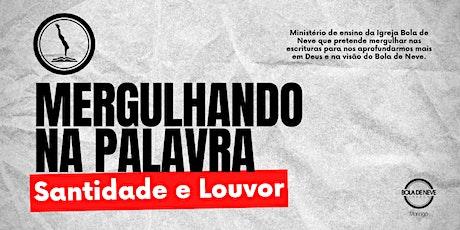 MERGULHANDO NA PALAVRA (04/10) 20h00 ingressos