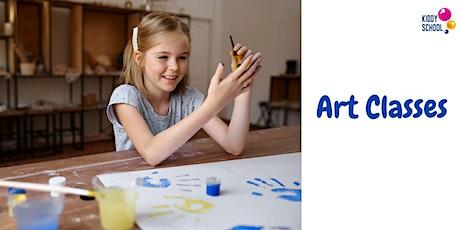 Fine Art class - trial for kids (online) tickets