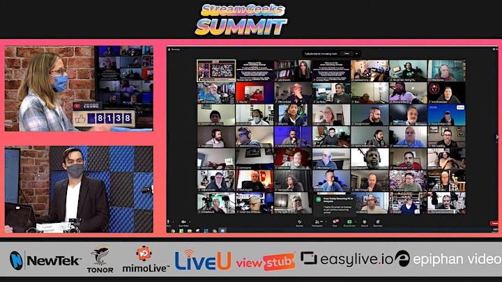 The StreamGeeks Summit 3.0 image