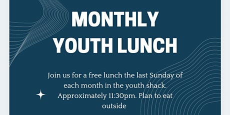 Monthly youth lunch tickets