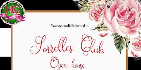 Sorrelles Open House Information Meeting billets