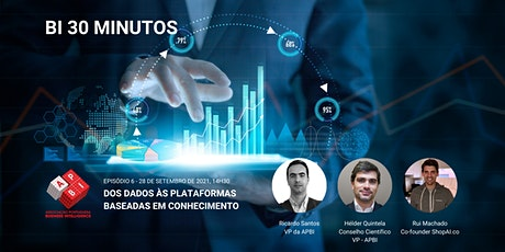 BI 30 minutos - EP06 - Dos dados às plataformas baseadas em conhecimento biglietti