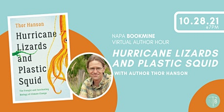 Virtual Author Hour with Thor Hanson tickets
