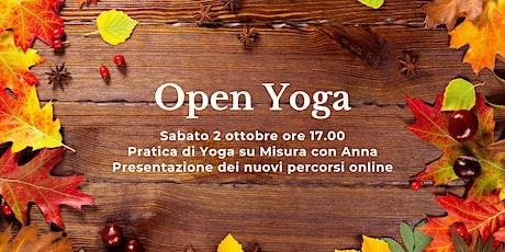 Open Yoga su Misura con Anna biglietti