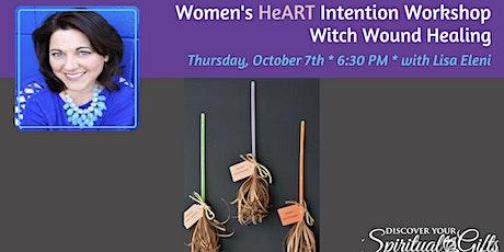 Women's HeART Intention Workshop: Witch Wound Healing tickets