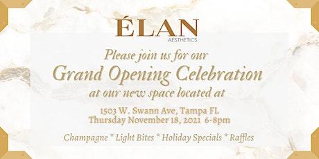 ÉLAN Grand Opening Celebration tickets