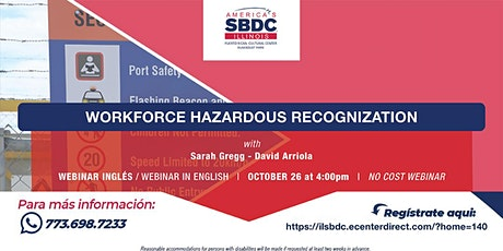 Workforce Hazordous Recognization tickets