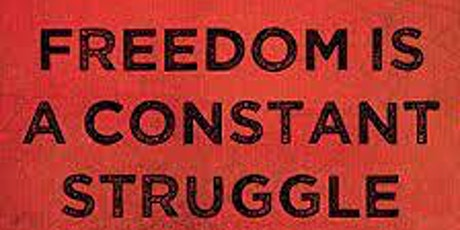 """ONLINE Book  Discussion : """"Freedom is a Constant Struggle"""" by Angela Davis tickets"""