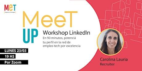 Meet Up: Workshop LinkedIn boletos