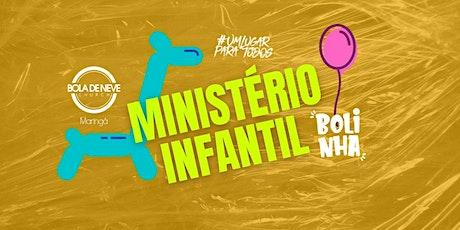 INFANTIL DOMINGO (24/10) 18h00 ingressos