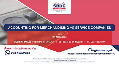 Accounting for merchandising vs service companies tickets