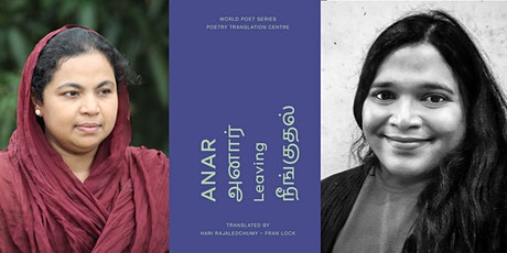 'Leaving' by Anar - Poetry Reading & Conversation with ACTL tickets