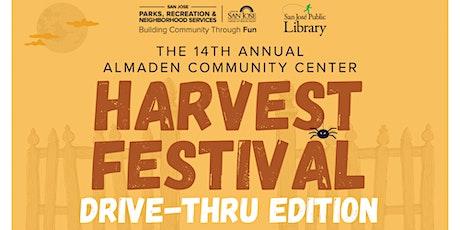 14th Annual Harvest Festival - Drive Thru Edition Almaden Community Center tickets