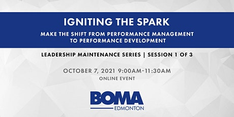 Leadership Maintenance Series - Igniting The Spark tickets