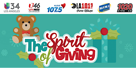 """UNIVISION Toy Drive -""""The spirit of giving"""" tickets"""