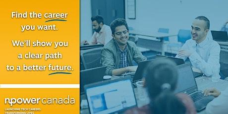 Community Inclusion & NPower Canada: Unlock Your Digital Career tickets