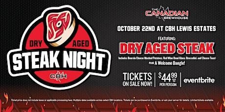 Dry Aged Steak Night (Edmonton - Lewis Estates) tickets
