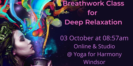 SOMA Breathwork Class for Deep Relaxation tickets