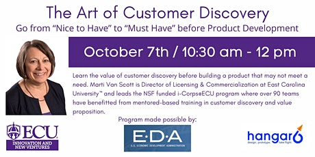 The Art of Customer Discovery tickets