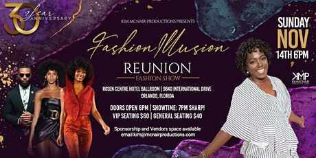 McNair Productions Fashion Illusion 30'  Reunion Show entradas