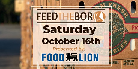 Feed The Boro October 2021 Community Food Distribution tickets