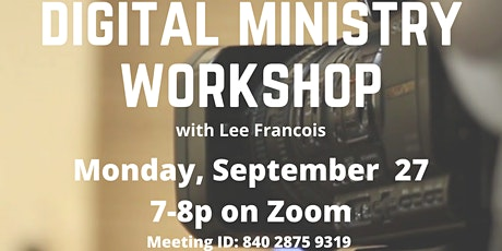 Digital  Ministry Workshop tickets