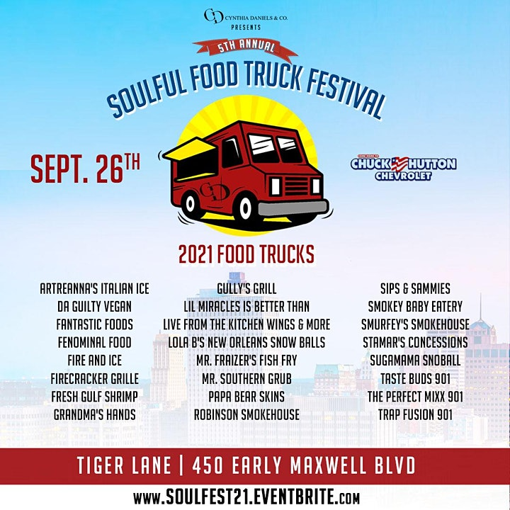 Soulful Food Truck Festival  2021 image