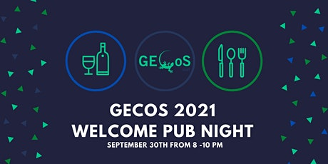 2021 GECoS Weclome/ Welcome Back Pubnight tickets