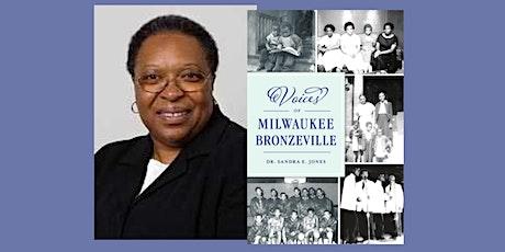 Sandra E Jones, author of Voices of Milwaukee Bronzeville - at Boswell tickets