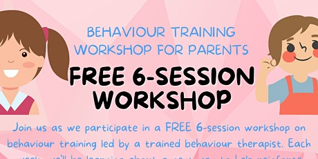 Children's Behavior Management Training Class for Parents tickets