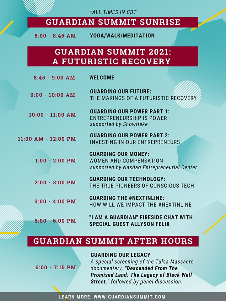 Oct 12 | Guardian Summit 2021 (Virtual) | Powered by Camelback Ventures image