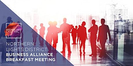 Northern Lights District Business Alliance Breakfast Meeting tickets