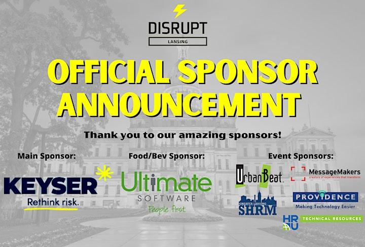 DisruptHR Lansing 1.0 image