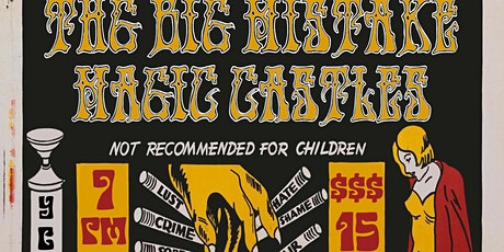 JRD & The Big Mistake Halloween Hoedown with special guests Magic Castles tickets