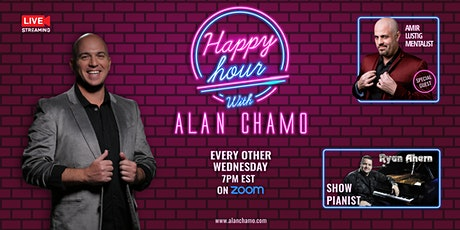Happy Hour with Alan Chamo    featuring  Mentalist Amir Lustig tickets
