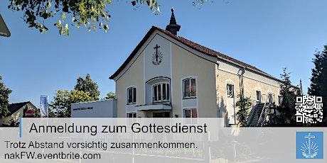Erntedanktag. Zentraler Gottesdienst BAP Nadolny (Übertragung aus Berlin) Tickets