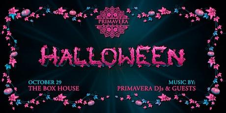 Primavera Music Halloween tickets
