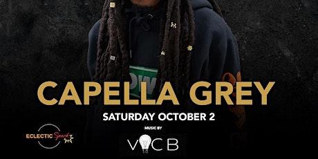 Capella Grey @ Noto Philly October 2 tickets