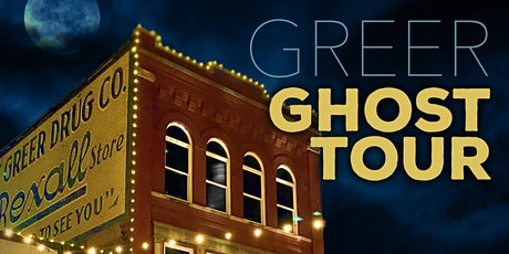 2021 Greer Ghost Tours: Classic Tour tickets