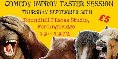 Comedy Improv Taster Session tickets