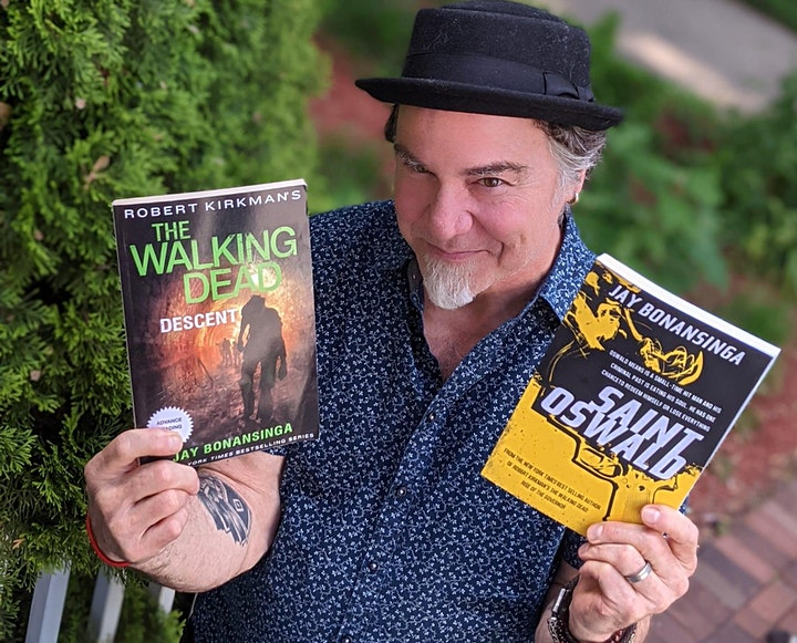 Spooky Sips with Jay Bonansinga,  Author of the Walking Dead image