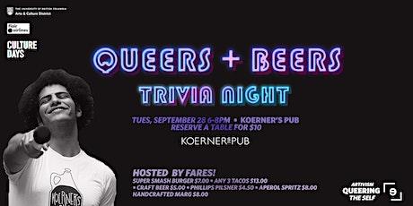 QUEERS + BEERS: Queer Trivia Night tickets