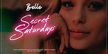 Secret Saturdays at Belle tickets