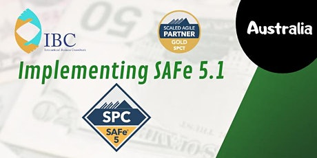 (SPC) : Implementing SAFe 5.1 -Remote class -Australia tickets