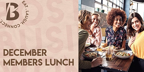 December Members Only Lunch tickets