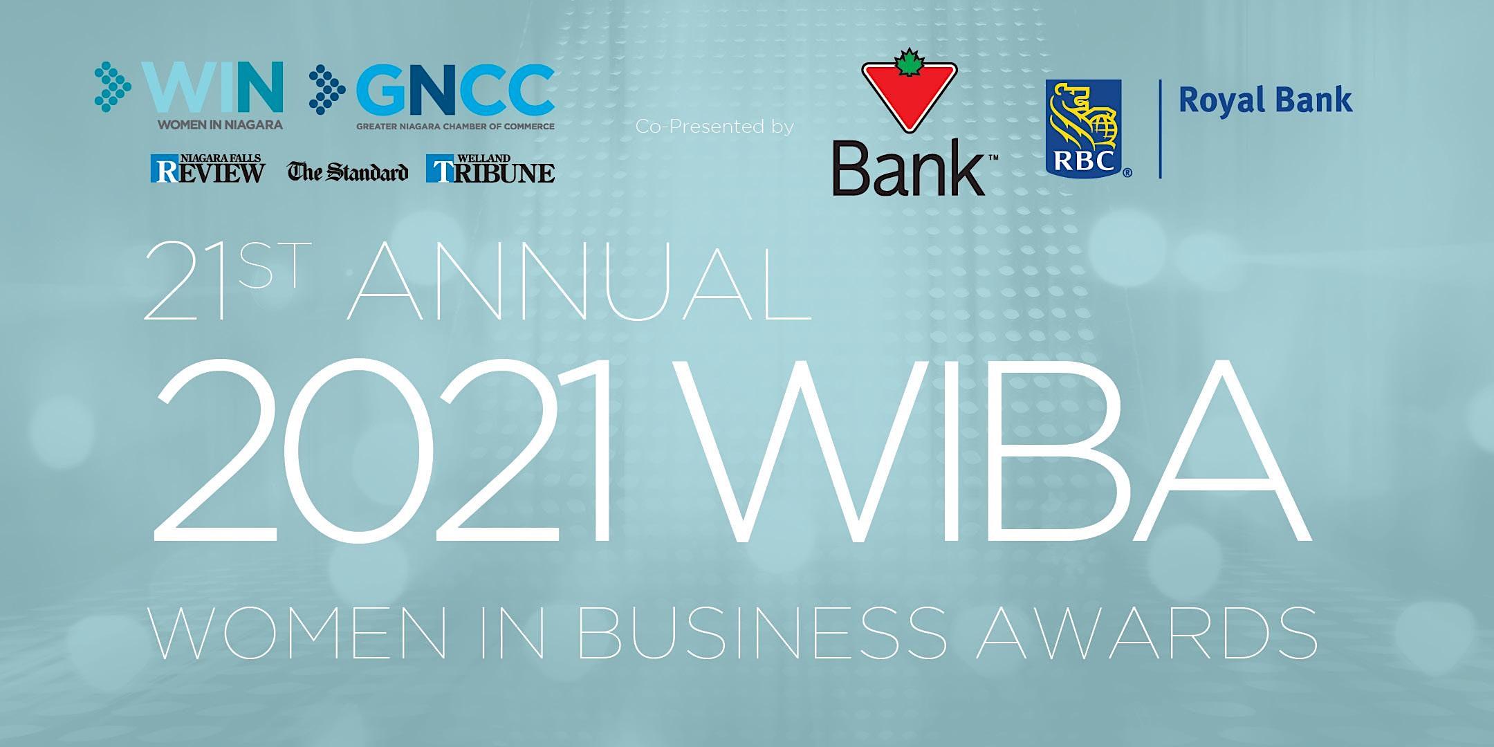 2021 Women in Business Awards (WIBA)