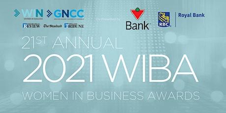 2021 Women in Business Awards (WIBA) tickets